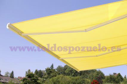 TOLDO EXTENSIBLE CON COFRE RESOBOX | TOLDOS POZUELO