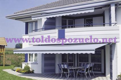TOLDO EXTENSIBLE CON COFRE SELECT-BOX|TOLDOS POZUELO –