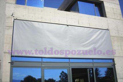 TOLDO VERTICAL CON VARILLAS   TOLDOS POZUELO
