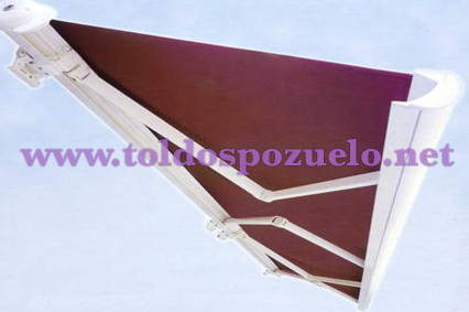 TOLDO EXTENSIBLE CON COFRE MAXIBOX 300 | TOLDOS POZUELO