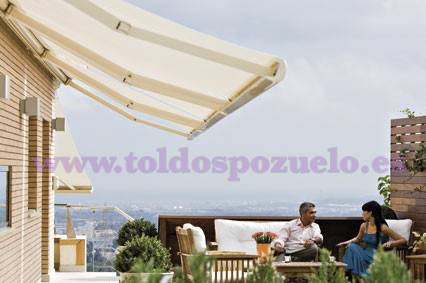 TOLDO EXTENSIBLE CON COFRE STORBOX 250 | TOLDOS POZUELO